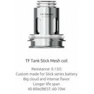 SMOK TF Stick Mesh Replacement Coils - Pack of 3