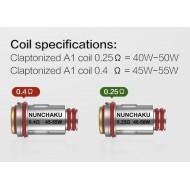 Uwell Nunchaku Replacement Coils - 4 Pack