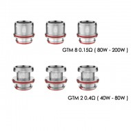 Vaporesso GTM Replacement Coils - 3 Pack